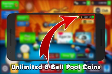 Download 8 Ball Pool Coins Prank 1.0 APK