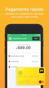 Download 99 Seja Motorista e ganhe dinheiro para dirigir 6.4.2 APK