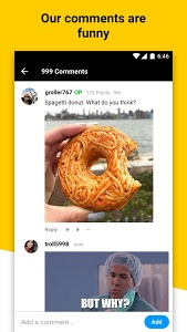 screenshot of 9GAG: Best Funny GIFs & Pics version Varies with device