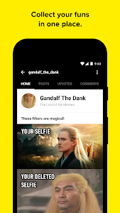 screenshot of 9GAG version 6.10.01r8421-8627a8c20