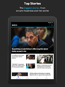 screenshot of ABC NEWS version Varies with device
