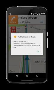 screenshot of AT&T Navigator: Maps, Traffic version 5.7.5.1.8421421