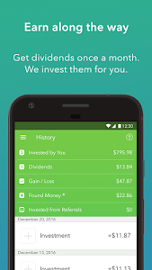screenshot of Acorns - Invest Spare Change version 1.7.1