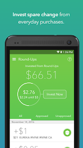 screenshot of Acorns - Invest Spare Change version 1.5.15
