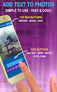 screenshot of Add Text to Photo App (2016) version 12.0
