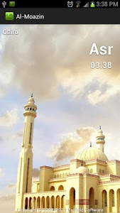 screenshot of Al-Moazin Lite (Prayer Times) version 3.0.811