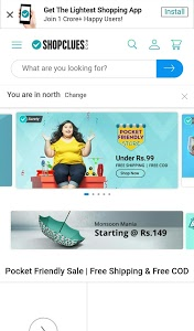 screenshot of All In One Online Shopping Apps India version 1.0.3