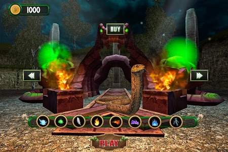 screenshot of Angry Anaconda Snake Simulator: RPG Action Game version 2.1