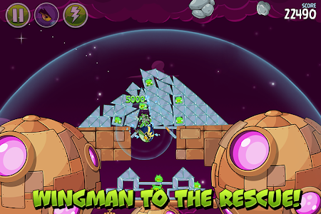screenshot of Angry Birds Space HD version 2.2.14