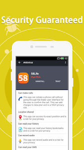 screenshot of Antivirus Free version 1.6.8