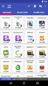 Download AppMgr III (App 2 SD, Hide and Freeze apps) 4.58 APK