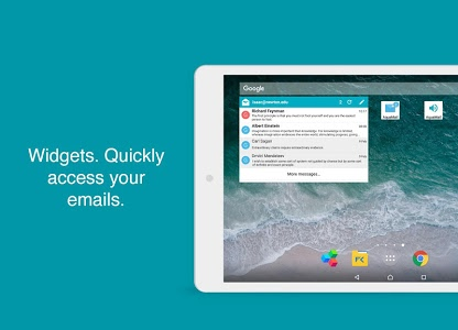 screenshot of Aqua Mail - Email App version Varies with device