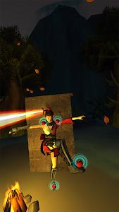 screenshot of Archery Physics Objects Destruction Apple shooter version 1.03