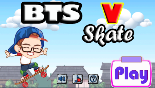Download BTS V Skate 1.0 APK