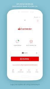 screenshot of Santander mobile version 5.3.0