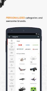 screenshot of Banggood - New user get 10% OFF coupon version 5.3.2