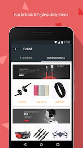 screenshot of Banggood - New user get 10% OFF coupon version 5.0.0