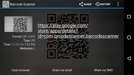 Download Barcode Scanner 1.27 APK