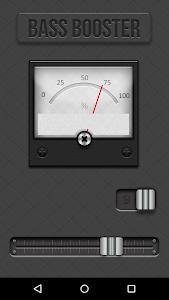 screenshot of Bass Booster version 1.5.13