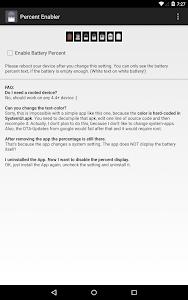 Download Battery Percent Enabler 1.1 APK