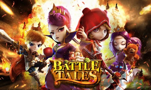 screenshot of Battle Tales version 1.5.0
