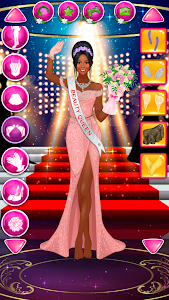 screenshot of Beauty Queen Dress Up - Star Girl Fashion version 1.0.7