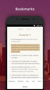 screenshot of Light Bible: Daily Verses, Prayer, Audio Bible version 3.2.2