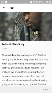screenshot of Bible version 1.6.4