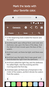 screenshot of Holy Bible King James + Audio offline and free version 4.7