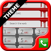 Download Blood ExDialer Theme 1.01 APK