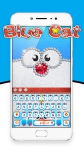 Download Blue Cat Diamond Keyboard 10001003 APK