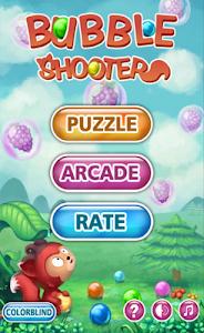screenshot of Bubble Shooter version 2.22.43