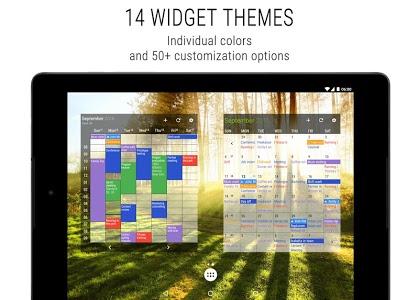 screenshot of Business Calendar 2 version 2.32.2