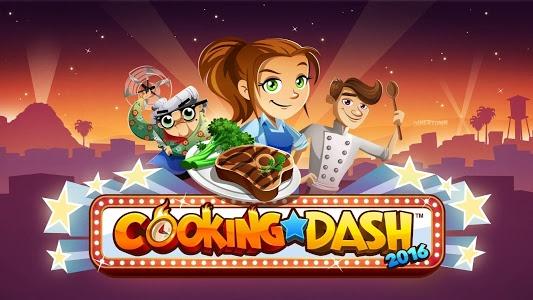 screenshot of COOKING DASH 2016 version 1.5.8