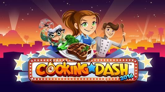 screenshot of COOKING DASH 2016 version 1.20.7