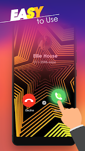 screenshot of Call Screen Themes - Caller Screen, Color Phone version 2.0
