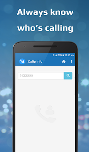 screenshot of CallerInfo: Caller ID version 2
