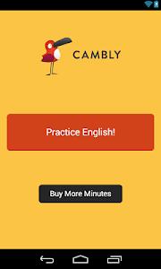 screenshot of Cambly - English Teacher version 1.4.2