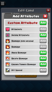screenshot of Card Creator for CR version 1.8.0