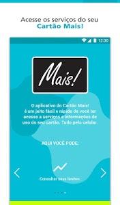 screenshot of Cartão Mais! version 1.1.0.3