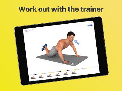 screenshot of Chest workout plan version 4.5.1
