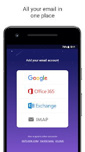 screenshot of Newton Mail - Email App for Gmail, Outlook, IMAP version 9.8.399