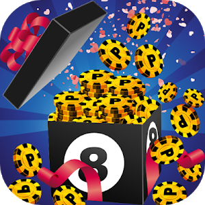 Download Coins 8 Ball Pool Gift Prank 1.0 APK