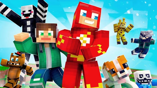 Download ✩ Crossy Creepers: Marvel Island Block Survival ✩ 3.5 APK