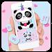 Download Cute Panda Keyboard Theme 7.0 APK