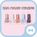 Download Cute Wallpaper Nail Polish Friends Theme 1.0.0 APK