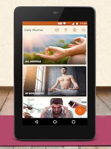 screenshot of Daily Mudras (Yoga) - for health version 1.7