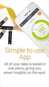 screenshot of Dario - Diabetes Management version Varies with device