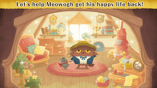 screenshot of Days of van Meowogh version 1.9.8