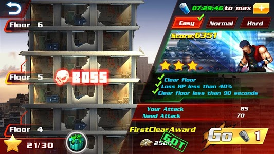 screenshot of Death Tower Fight version 1.1.6